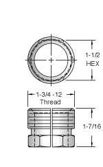 Controlled Automation Coupling Nut 7862SPLIT