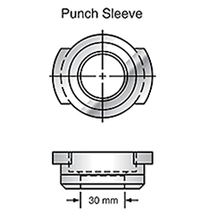 Sunrise Tooling Punch Sleeve SP1ASLV