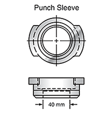 Sunrise Tooling Punch Sleeve SP2ASLV