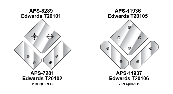 Edwards Shear Blades